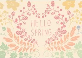 안녕 봄-파스텔