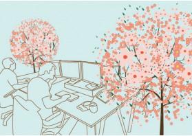 이 순간 봄-회사