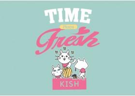 핑크빛 시간을 고양이는 생각한다
