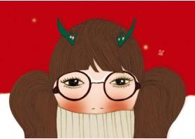 크리스마스 소녀