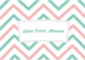 [기성품] [Enjoy Every Moment] [500EA] [10/13oz]