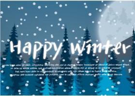 [기성품] [Happy Winter - 블루] [500EA] [10/13oz] - 포인트 주문 불가