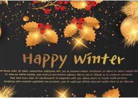 [기성품] [Happy Winter - 크리스마스] [500EA] [10/13oz] - 포인트 주문 불가